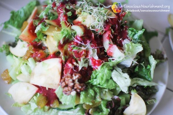 Apple and Greens Salad
