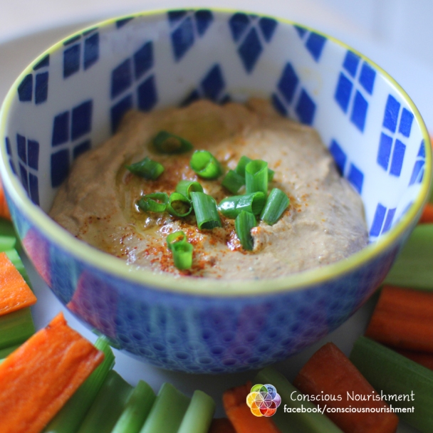Raw Sudried Tomato Hummus