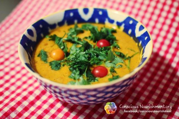 Raw Veggie Soup