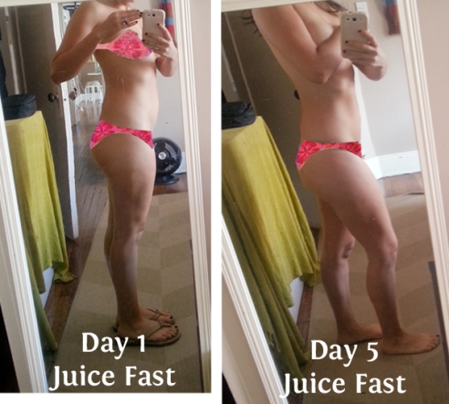 Front-5 day juice fast Before After-side