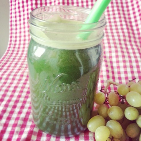 Grape Lettuce Apple Ginger Juice