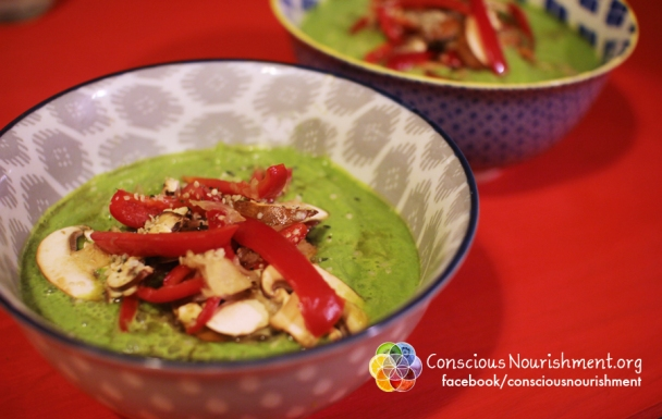 Spinach Parsley Soup