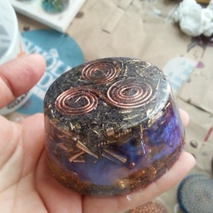 One of my first pieces of orgonite. HHG
