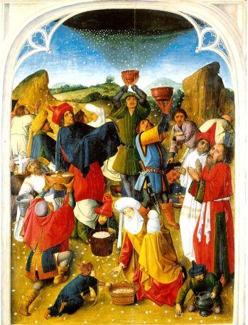 Gathering of Biblical Manna