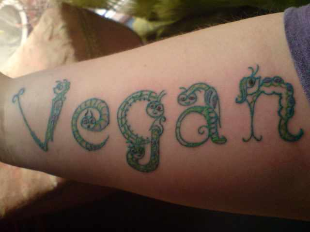 You re vegan but what about your tattoo conscious for Permanent marker tattoo